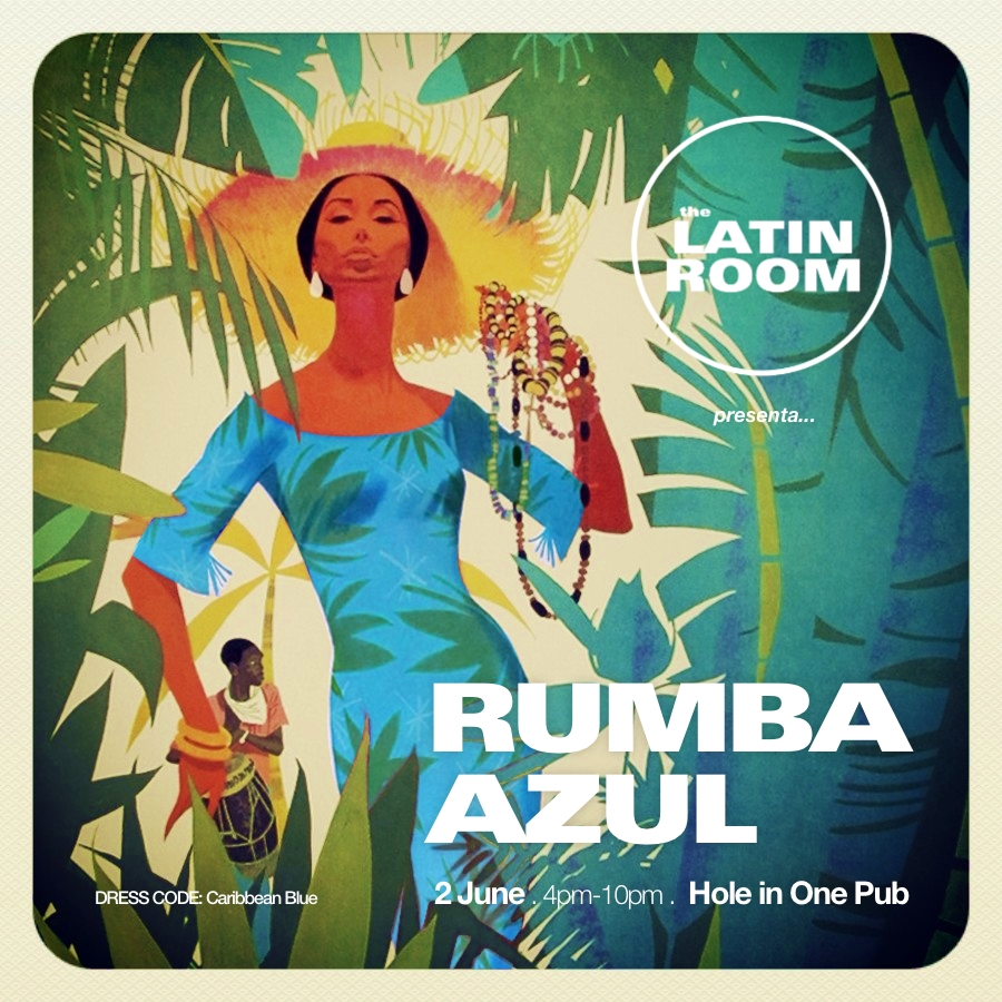 Salsa Party in Madeira - 2 JUN - RUMBA AZUL - LATIN ROOM