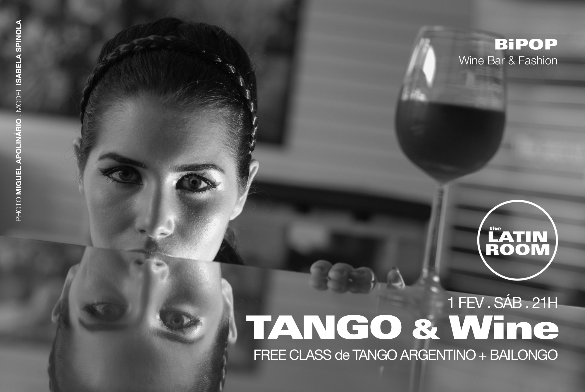 Aula Aberta de TANGO ARGENTINO - BiPOP Wine & Fashion by The Latin Room