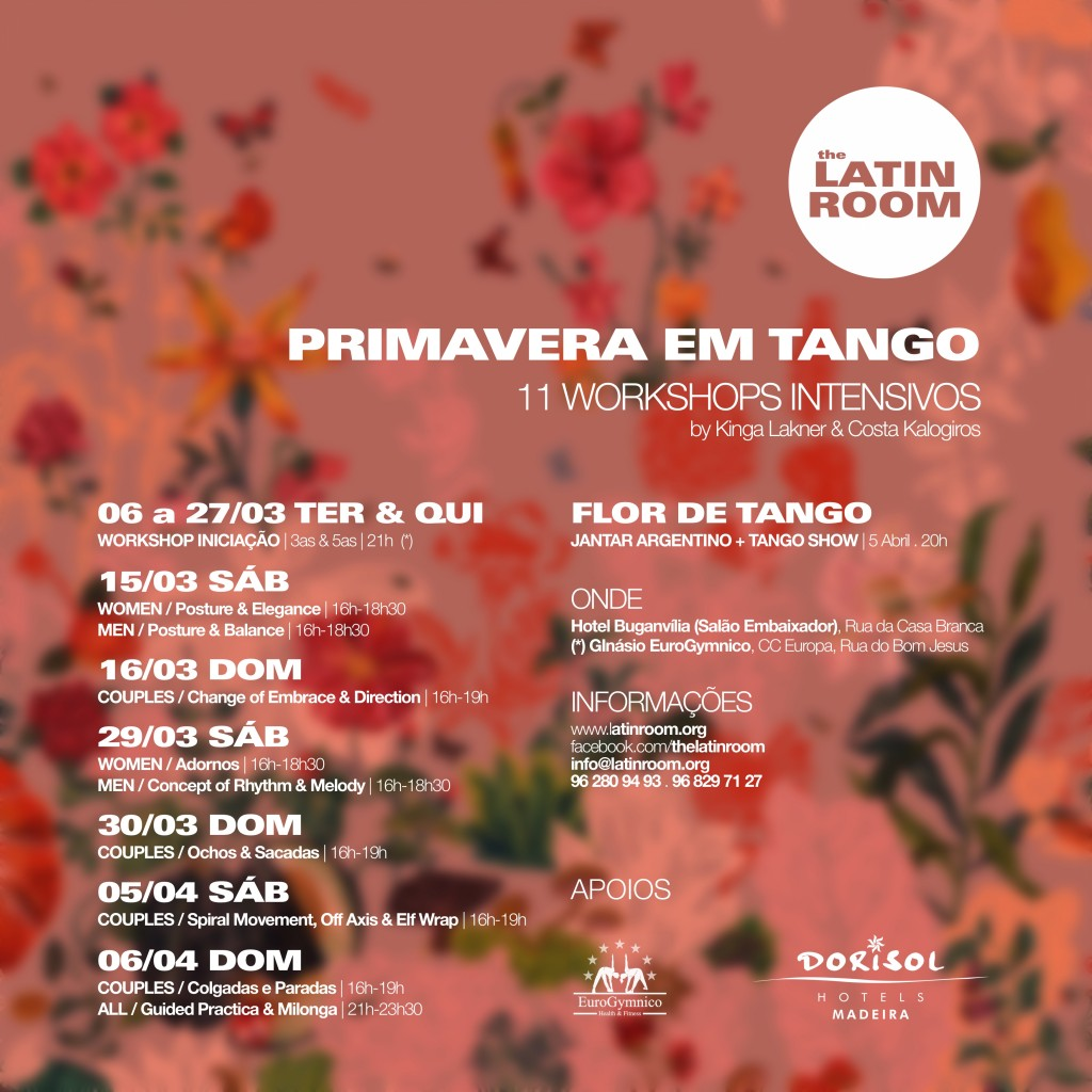 TANGO ARGENTINO MADEIRA - The Latin Room
