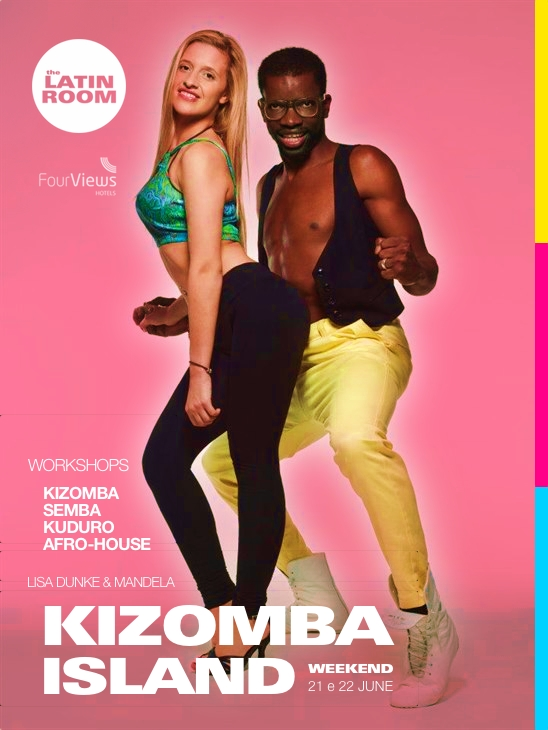Kizomba Island Workshops - Lisa Dunke & Mandela - Madeira Island - by The Latin Room